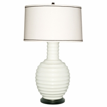 White Mariah Lamp Base