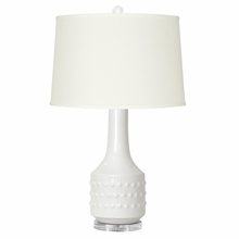 White Maribel Lamp Base