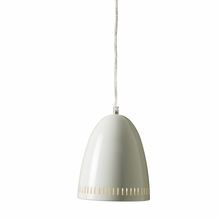 White Mini Dynamo Pendant Light