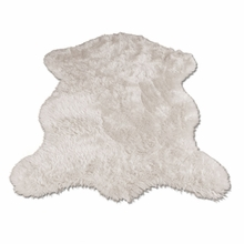 White Polar Bear Pelt Rug