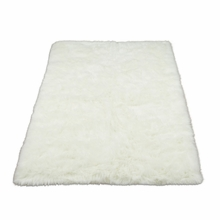 White Polar Bear Rectangle Rug