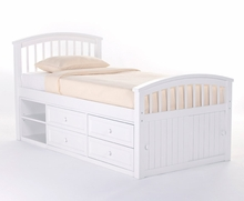 White Ashton Bed
