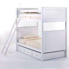 White Cameron Bunk Bed
