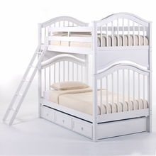 White Kadyn Bunk Bed