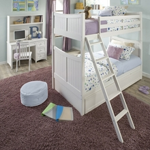White Devin Bunk Bed