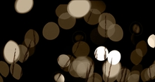 White Twinkle Lights Wall Art