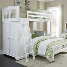 Waverly Twin Over Full Bed with Storage