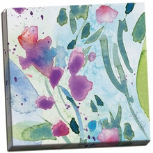 Wild Flower Dance II Canvas Wall Art