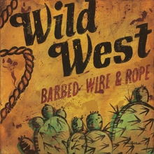 Wild West Rope Canvas Wall Art