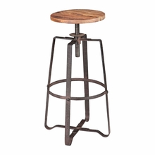 Wilde Barstool Distressed Natural