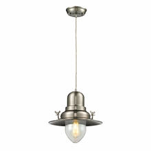 Wilton Station Pendant In Brushed Nickel