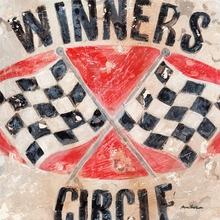 Winner's Circle Flags Canvas Wall Art