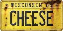 Wisconsin Custom License Plate Art