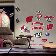 Wisconsin Logo Wall Decals