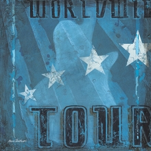 World Tour Canvas Wall Art
