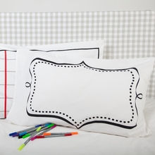 Write-On Pillowcase