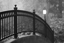 Wrought Iron Bridge Wall Art