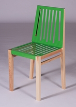 Yellow Green and Natural Marlowe Chair