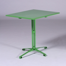 Yellow Green Cafe Table