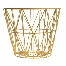 Yellow Large Wire Basket