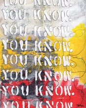 You Know Canvas Wall Art