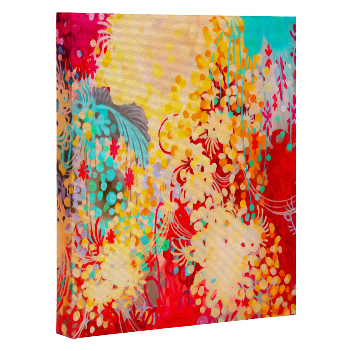 Bon Young Bohemian Wrapped Canvas Art