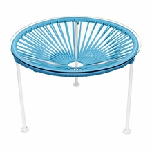 Zica Table - Blue Weave