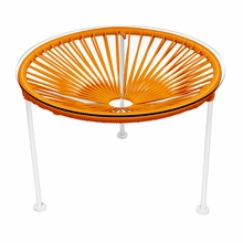 Zica Table - Orange Weave