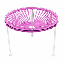 Zica Table - Pink Weave