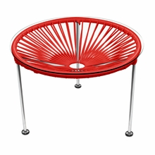 Zica Table - Red Weave