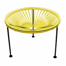 Zica Table - Yellow Weave
