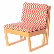Zig Zag Canyon Cypress Chair