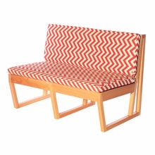 Zig Zag Canyon Cypress Loveseat