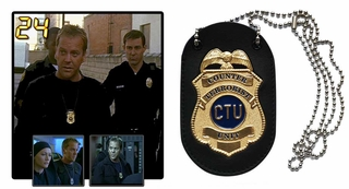 24: Jack Bauer CTU Badge Replica