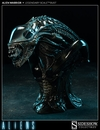Alien Warrior Legendary Scale Bust