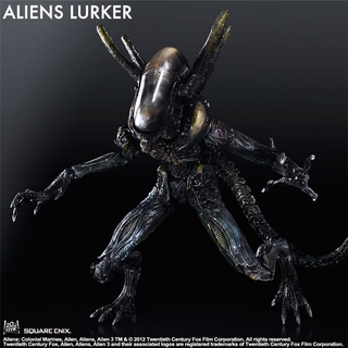 Aliens Colonial Marines Play Arts Kai Lurker Action Figure