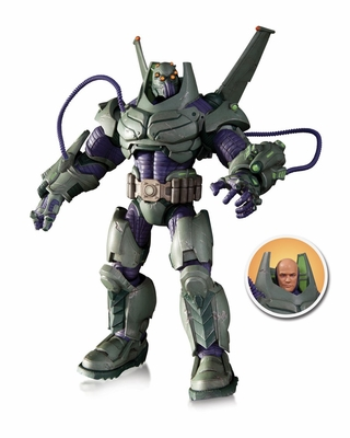 Armored Suit Lex Luthor Deluxe Action Figure