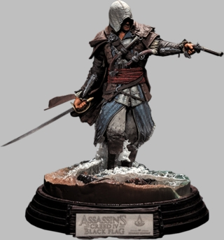 Assassins Creed Kenway Statue by McFarlane Toys
