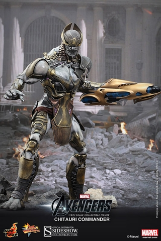 Avengers Chitauri Commander Sixth Scale Figure