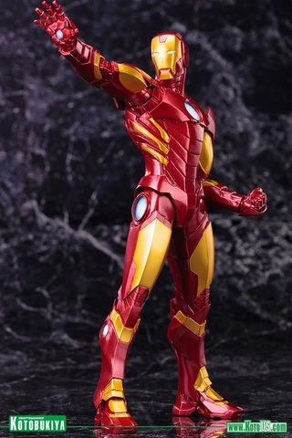 Avengers Now Iron Man ARTFX+ Statue Red Version