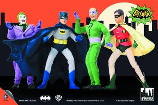 Batman 1966 Retro Figures Series 1 Set