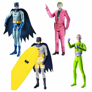 Batman 1966 TV Series 6 Inch Action Figures - Set of 4