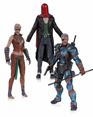Batman Arkham Origins Action Figure 3 Pack