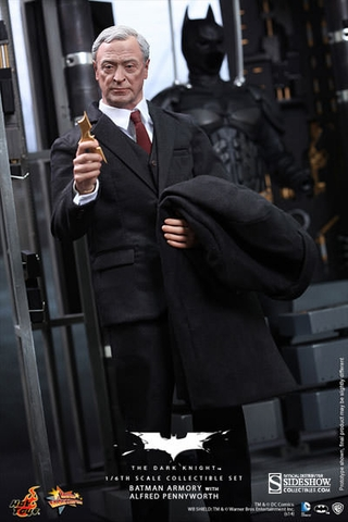 Batman Armory with Alfred Pennyworth 1/6 Scale Figure