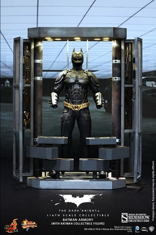 Batman Armory with Batman 1/6 Scale Figure