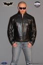 Batman Begins Leather Street Jacket