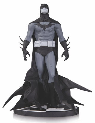 Batman Black and White Statue by Jae Lee