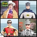 Batman Retro 1966 TV Series 3 Action Figure Set