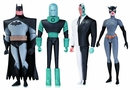 Batman The Animated Series Action Figures Wave One - Set of 4