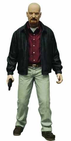 Breaking Bad Heisenberg Previews Exclusive Red Shirt Variant Figure